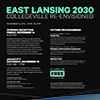 East Lansing 2030 | Collegeville Re-Envisioned Exhibition Opening